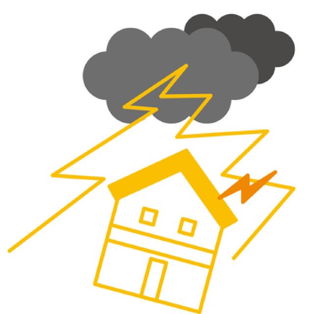 ② 落雷事故のサムネイル